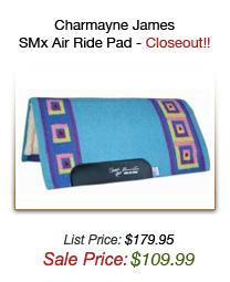 Charmayne James SMx Air Ride Pad - Closeout!!