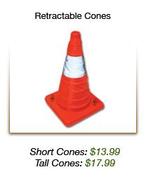 Retractable Cones