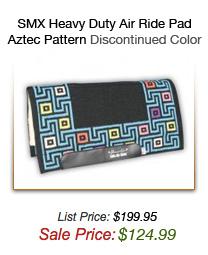 SMx Heavy Duty Air Ride Pads - Aztec Pattern