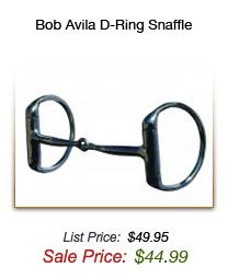 Bob Avila D-Ring Snaffle